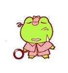 蛙探偵ケロ・ホームズ(個別スタンプ:07)