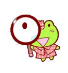 蛙探偵ケロ・ホームズ(個別スタンプ:12)