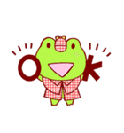 蛙探偵ケロ・ホームズ(個別スタンプ:16)
