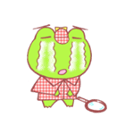 蛙探偵ケロ・ホームズ(個別スタンプ:19)