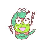 蛙探偵ケロ・ホームズ(個別スタンプ:32)