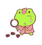 蛙探偵ケロ・ホームズ(個別スタンプ:34)