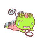 蛙探偵ケロ・ホームズ(個別スタンプ:35)