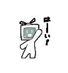 動く!テレビくん2(個別スタンプ:10)