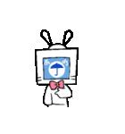 動く!テレビくん2(個別スタンプ:15)