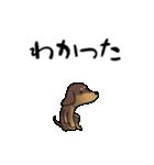 激しく尻尾をふるイヌ4(個別スタンプ:16)