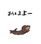 激しく尻尾をふるイヌ4(個別スタンプ:21)
