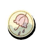 まんまる和紙のしーる風すたんぷ(個別スタンプ:29)