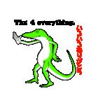 嫌われ者のグリーンアノール(個別スタンプ:02)