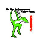 嫌われ者のグリーンアノール(個別スタンプ:40)