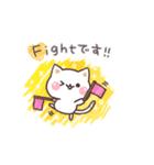 スケッチ!気づかいのできるネコ 敬語編(個別スタンプ:02)