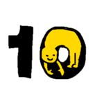 レインボーカレンダー(個別スタンプ:10)