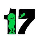 レインボーカレンダー(個別スタンプ:17)