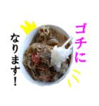 【実写】牛丼(個別スタンプ:09)