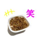 【実写】牛丼(個別スタンプ:15)