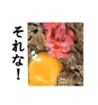 【実写】牛丼(個別スタンプ:21)