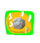 【実写】牛丼(個別スタンプ:26)