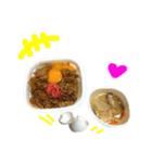 【実写】牛丼(個別スタンプ:37)