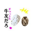 【実写】牛丼(個別スタンプ:38)