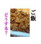 【実写】牛丼(個別スタンプ:39)