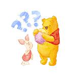 くまのプーさん桜くじ付きスタンプ(個別スタンプ:05)