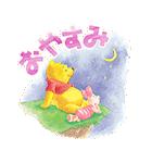 くまのプーさん桜くじ付きスタンプ(個別スタンプ:16)