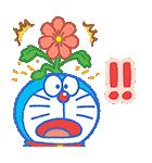ドラえもん桜くじ付きスタンプ(個別スタンプ:14)