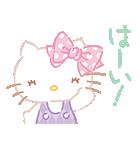 ハローキティ桜くじ付きスタンプ(個別スタンプ:01)