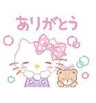 ハローキティ桜くじ付きスタンプ(個別スタンプ:03)