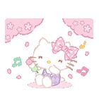 ハローキティ桜くじ付きスタンプ(個別スタンプ:05)