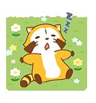 あらいぐまラスカル桜くじ付きスタンプ(個別スタンプ:09)