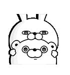 くま&うさぎ100%桜くじ付きスタンプ(個別スタンプ:15)