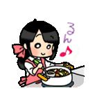 (妻)主婦に便利☆黒髪女子第3弾(個別スタンプ:36)
