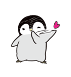 おはようからおやすみまであいさつペンギン(個別スタンプ:02)