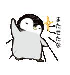 おはようからおやすみまであいさつペンギン(個別スタンプ:27)