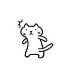 Ato's モノクロねこさん【ato10396】(個別スタンプ:2)