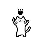 Ato's モノクロねこさん【ato10396】(個別スタンプ:4)