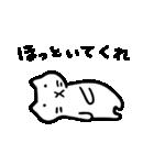 Ato's モノクロねこさん【ato10396】(個別スタンプ:6)