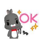 3Dうさぎ ラパン&バニー(個別スタンプ:01)