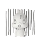 3Dうさぎ ラパン&バニー(個別スタンプ:22)