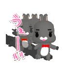 3Dうさぎ ラパン&バニー(個別スタンプ:28)