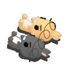 3Dうさぎ ラパン&バニー(個別スタンプ:33)