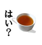【実写】紅茶(個別スタンプ:3)