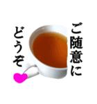 【実写】紅茶(個別スタンプ:10)