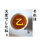 【実写】紅茶(個別スタンプ:19)