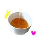 【実写】紅茶(個別スタンプ:28)