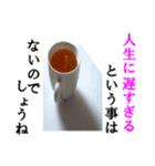【実写】紅茶(個別スタンプ:37)