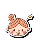 おだんごヘアーの女の子☆(個別スタンプ:7)