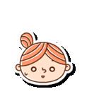 おだんごヘアーの女の子☆(個別スタンプ:9)