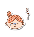 おだんごヘアーの女の子☆(個別スタンプ:11)